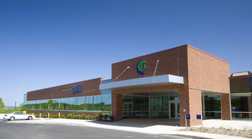 Hazleton Health & Wellness Center Main entrance