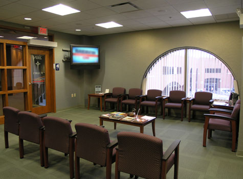 St. Lukes Hospital - Allentown Cancer Center Second floor waiting room