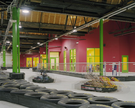 Lehigh Valley Grand Prix Fit-out
