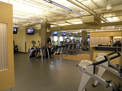 St. Lukes Health & Fitness Center Fit-out
