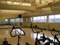 St. Lukes Health & Fitness Center Fit-out Aerobics/Spin class room