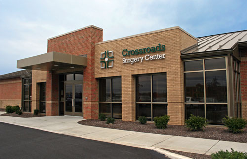Crossroads Surgery Center Front Entrance