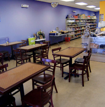 Ruby's Asian Market/Restaurant Dining area