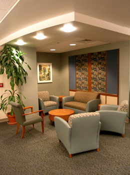 Lehigh Valley Health Network- Critical Care Unit Modifications Waiting room